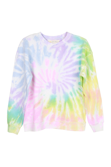Tie Dye Basic Crewneck Sweatshirt (+ colors)