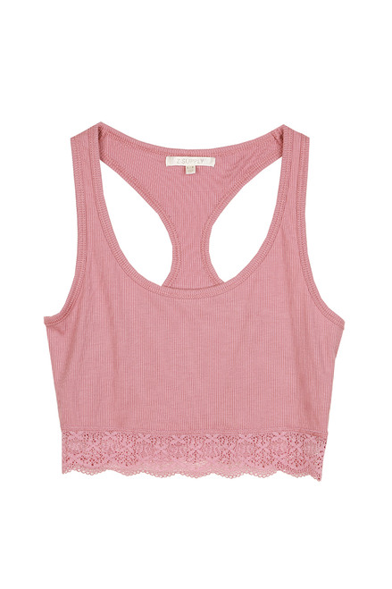 Hailey Ribbed Tank Bralette (+ colors)