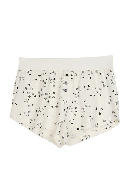 Brunch Heart Shorts