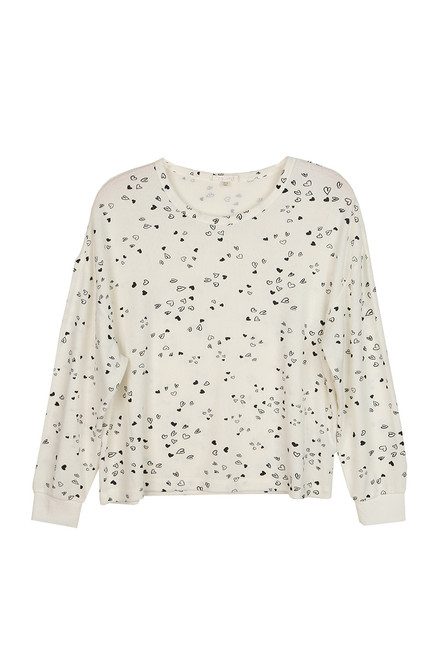 Bridget Heart L/S Top
