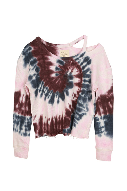 Tie Dye French Terry L/S Sweatshirt