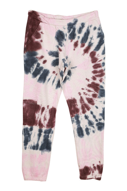 Tie Dye French Terry Moto Joggers