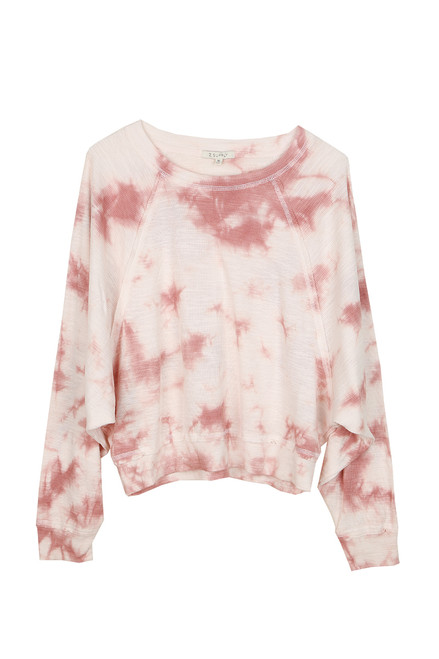 Claire Cloud Tie-Dye Dolman Top