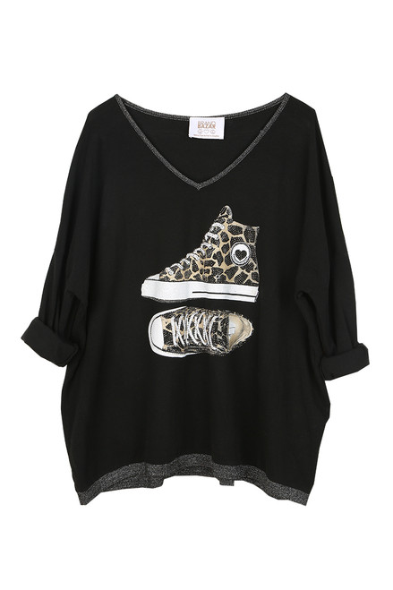 Leopard Sneakers L/S Top