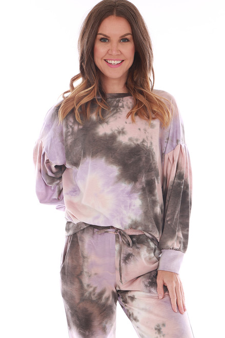 Tie Dye Crewneck Sweatshirt (+ colors)