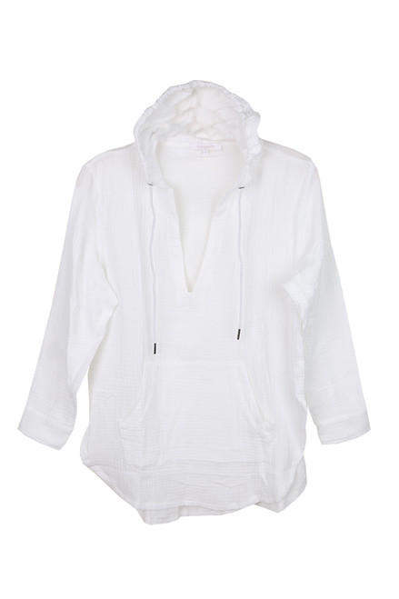 Muslin L/S Cover Up Hoodie