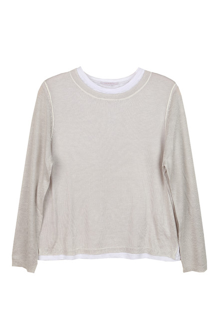 L/S Layered Knit Sweater (+ colors)