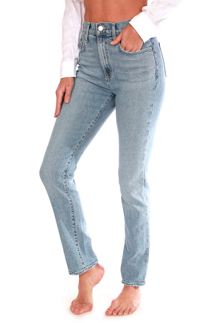 The Luna Vintage Straight Ankle Jeans