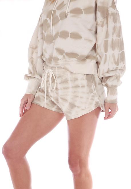 Sadie Spiral Tie Dye Shorts