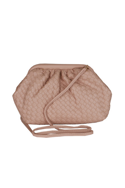 Leona Woven Crossbody Bag (+ colors)