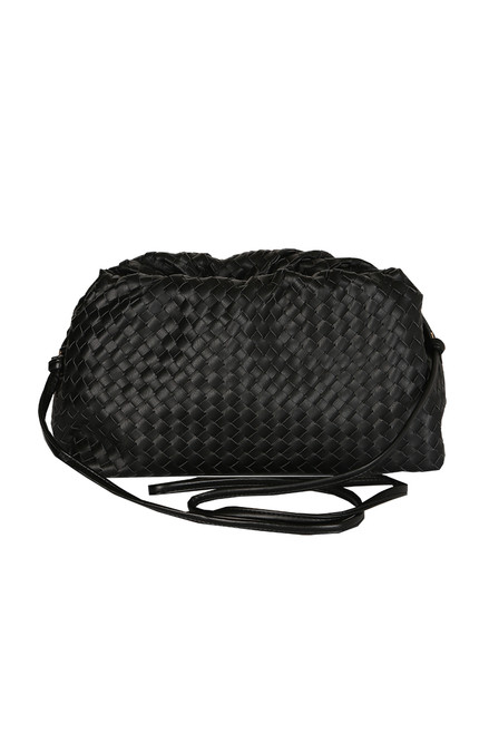 Medium Woven Crossbody Bag