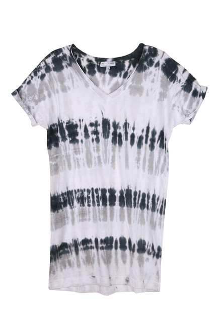 Cara V-Neck Tie Dye Tee Dress