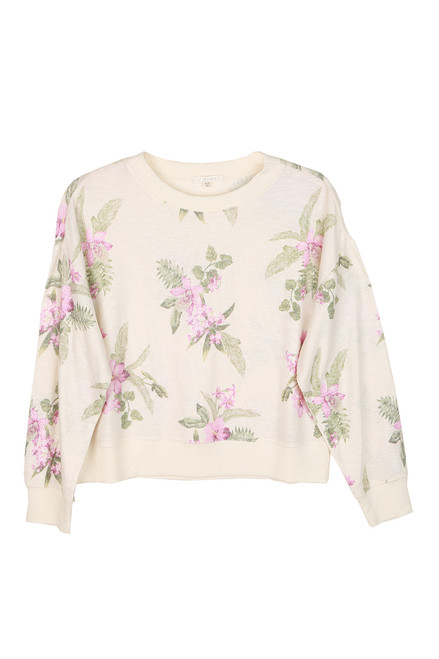 Elle Floral L/S Lounge Top