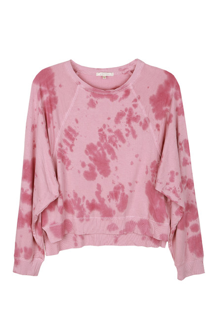 Sleep Over Tie Dye L/S Top