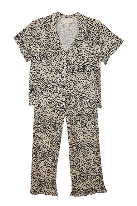 Leopard Shirt & Pants Set