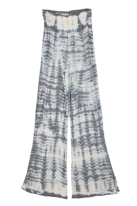 Tie Dye Smocked Wide Leg Pants