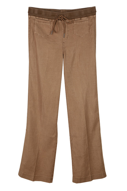 Lounge Around Linen Blend Pants