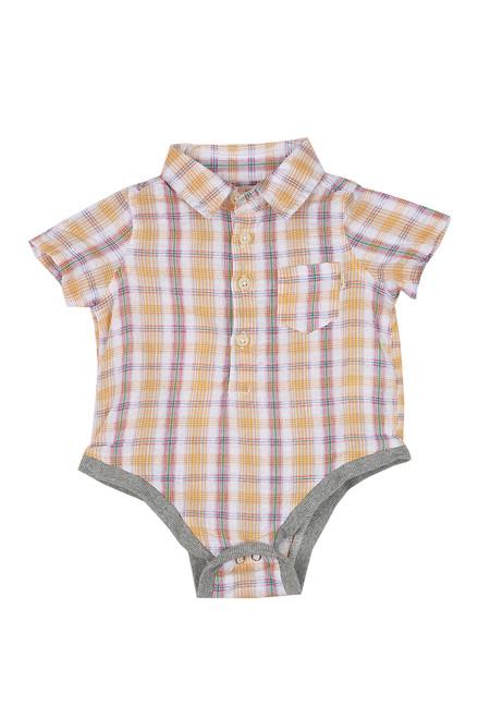 Plaid Woven Onesie (Infant)