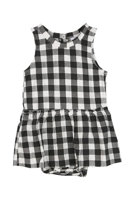 Gingham Onesie W/ Skirt (Infant)