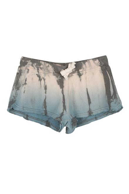 Tie Dye Burnout Fleece Shorts (+ colors)
