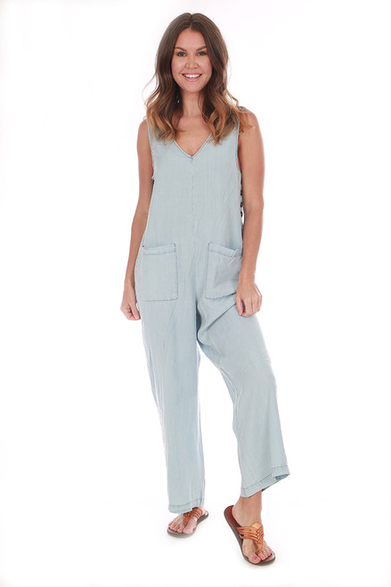Relaxed Lyocell Jumpsuit