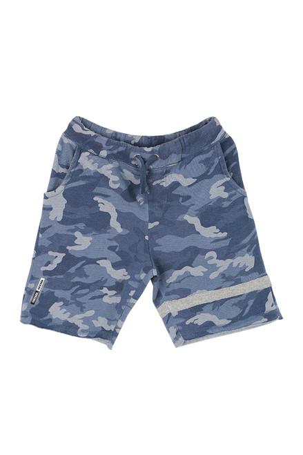 Camo Fleece Shorts (Big Kid)