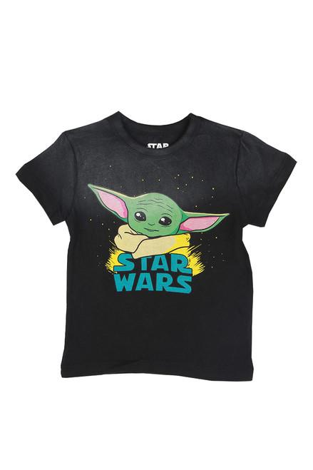 Baby Yoda Star Wars Tee (Little/Big Kid)
