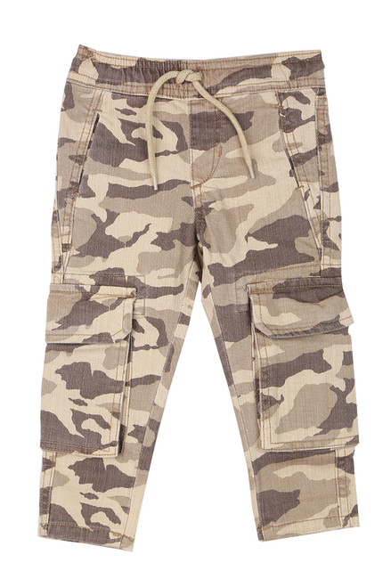 Slim Fit Camo Joggers (Toddler/Little Kid)