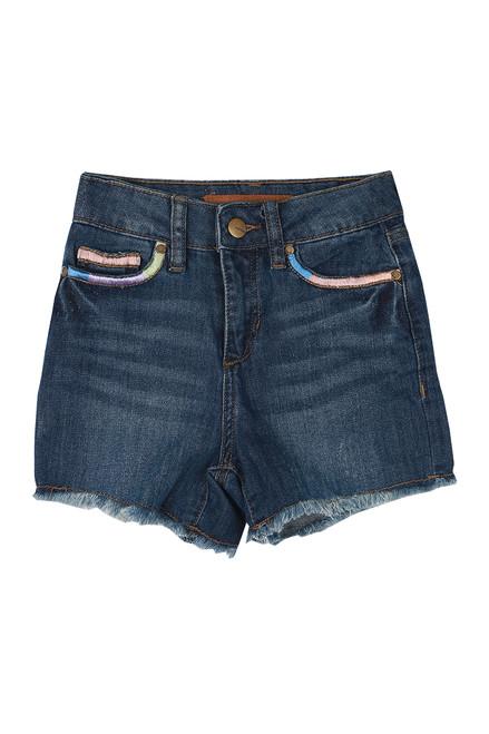 The Freya Denim Shorts (Big Kid)