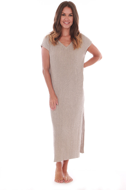 WFH Sweater Midi Dress