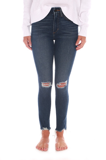 The Hi Honey Skinny Cropped Jeans