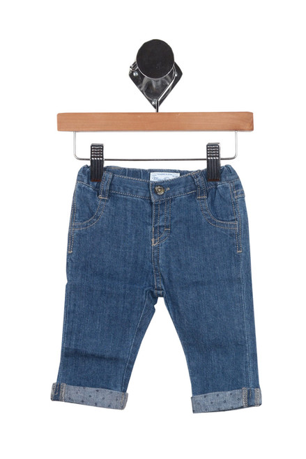 Basic Trouser Jean w/ Contrast Details (Infant Boy/Girl)