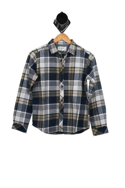 L/S Coastline Button Up Flannel (Big Kid)