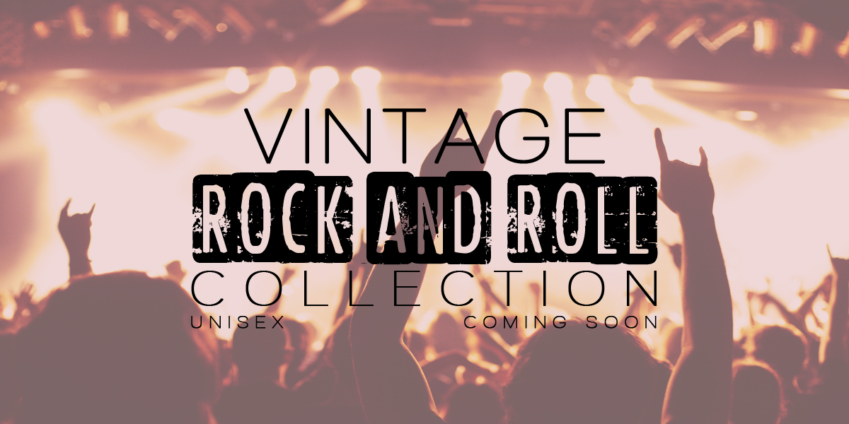 VINTAGE ROCK AND ROLL COLLECTION UNISEX COMING SOON