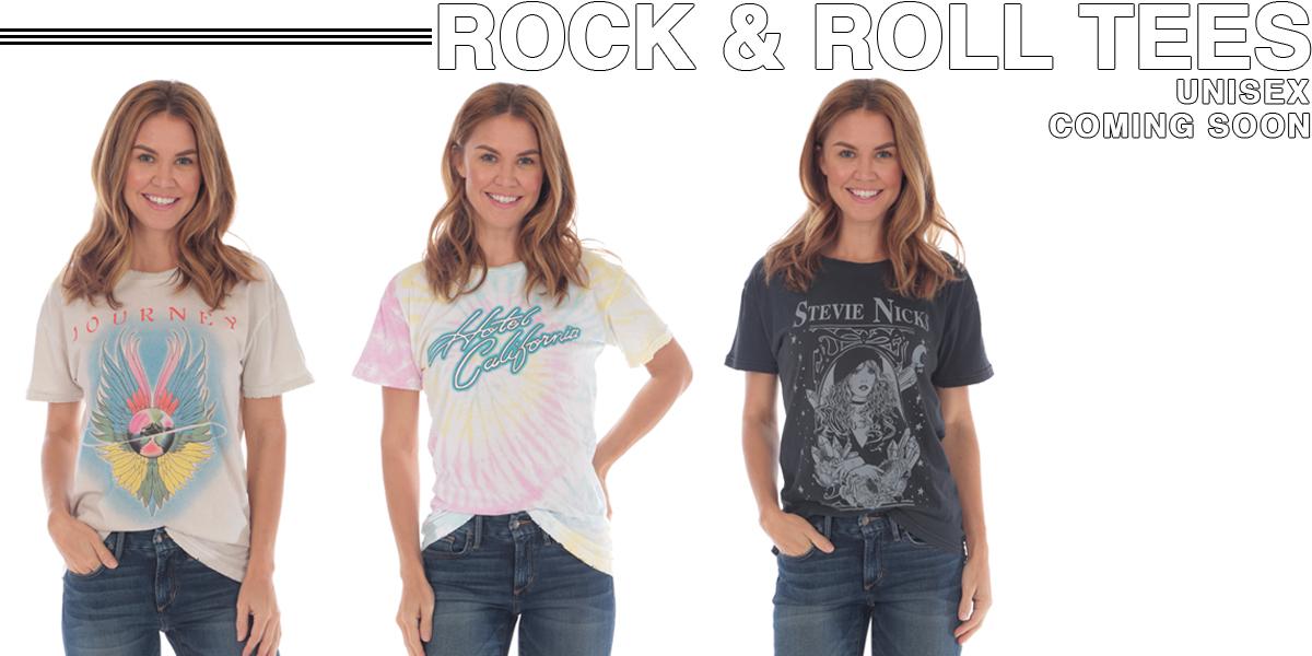 ROCK & ROLL TEES UNISEX COMING SOON