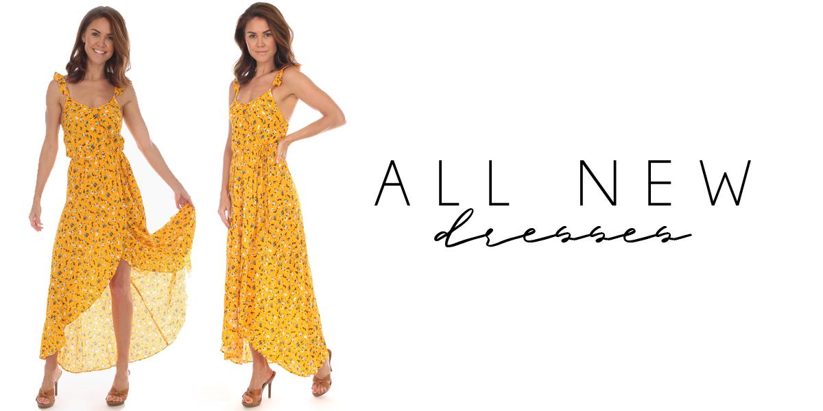 ALL NEW dresses
