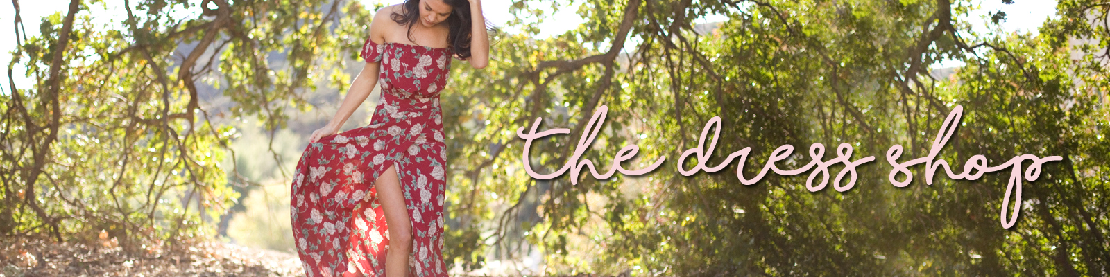 The Dress Shop Banner