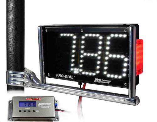 "LED ""Pro-Dial II-TL"" Dual-Sided Dial Board with Tail Light"