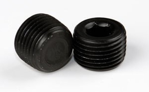 "3/4"" Black Polished NPT Plugs"