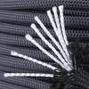 850 Black Paracord inner strands