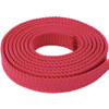 PolyPro 1in Flat Braid Rope - Red