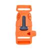 3/4 Inch Utility Buckle - Orange