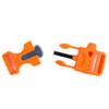 3/4 Inch Utility Buckle - Orange - 2
