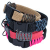 Flat Braid Rope Dog Collar Kits - Multiple Colors