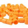 Plastic Lanyard Safety Pop Barrel Connector - Neon Orange - 5