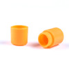 Plastic Lanyard Safety Pop Barrel Connector - Neon Orange - 2