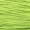 3-Strand Twisted Cotton 1/4 inch Rope - Lime Green