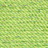 3-Strand Twisted Cotton 1/4 inch Rope - Lime Sparkle