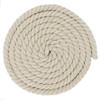 1/2 Inch Twisted Cotton Rope - Camel