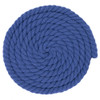 1/2 Inch Twisted Cotton Rope - Blue